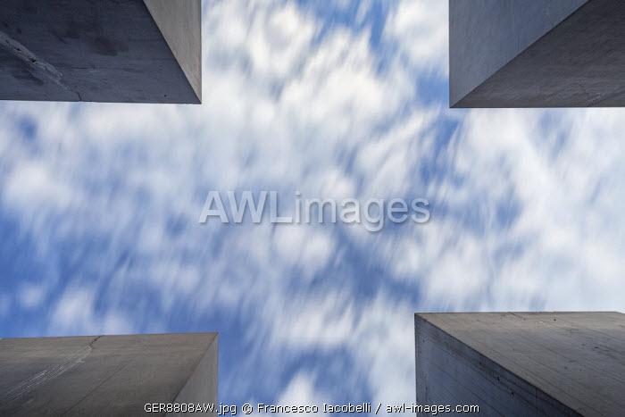 Germany, Deutschland. Berlin. Berlin Mitte. Holocaust memorial.