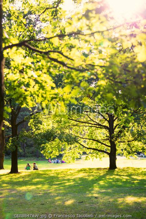 Germany, Deutschland. Berlin. Berlin Mitte. Tiergarten. A park