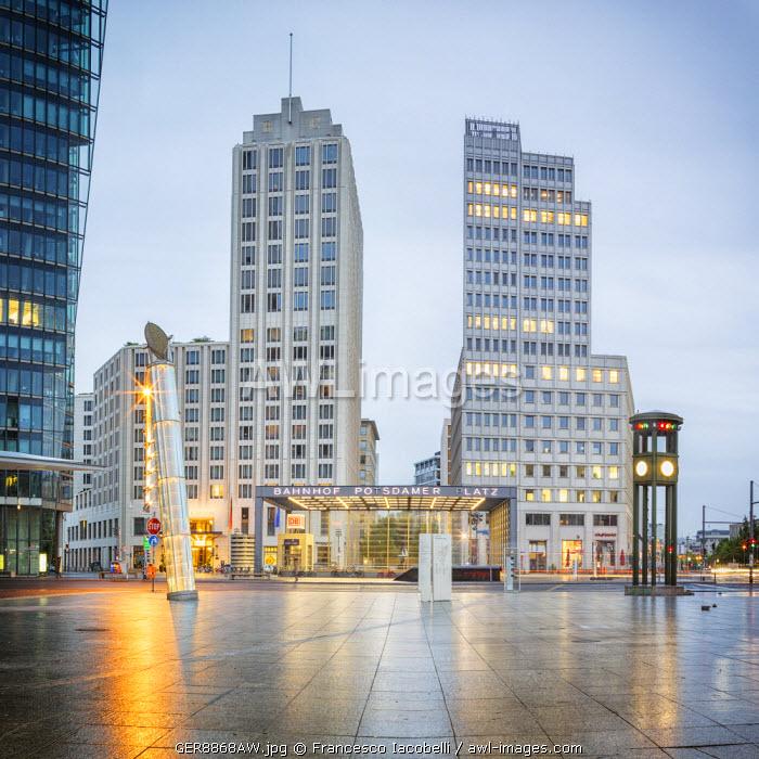 Germany, Deutschland. Berlin. Berlin Mitte. Potsdamer Platz.