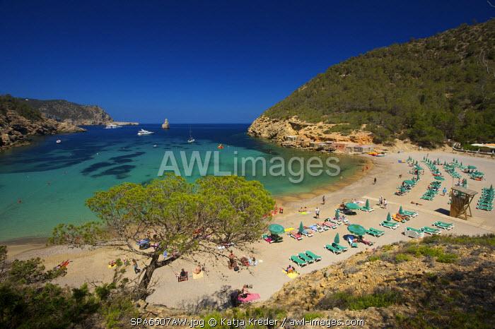 Cala Benirras, Ibiza, Balearic Islands, Spain