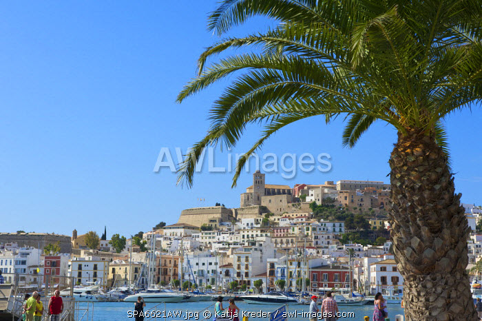 Dalt Vila, Eivissa, Ibiza Town, Balearic Islands, Spain