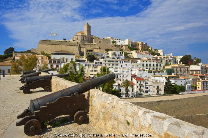 Dalt Vila, Eivissa, Ibiza Town, Balearic Islands, Spain