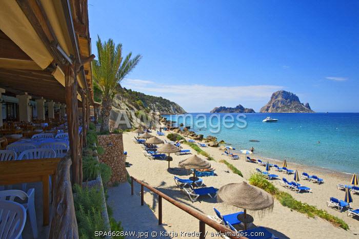 Cala d�Hort and Es Vedra, Ibiza, Balearic Islands, Spain