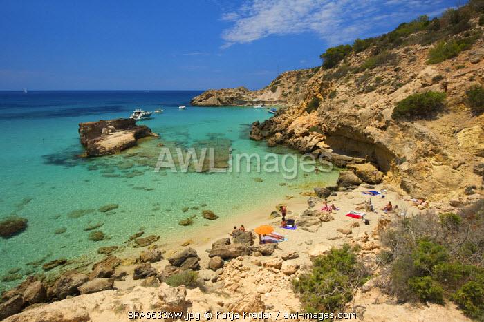 Cala Tarida, Ibiza, Balearic Islands, Spain