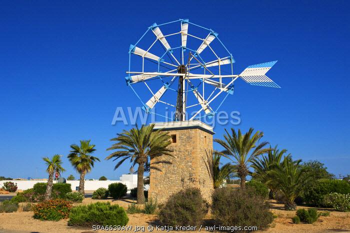 Windmill, Ibiza, Balearic Islands, Spain