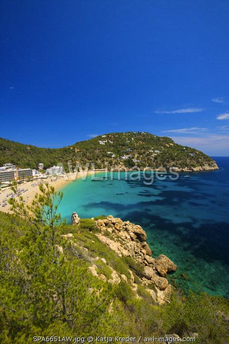 Cala de Sant Vicent, Cala San Vicente, Ibiza, Balearic Islands, Spain