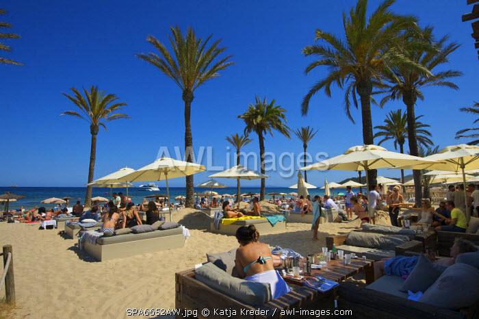 Platja d�en Bossa, Ibiza, Balearic Islands, Spain
