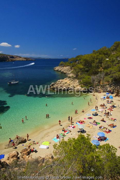 Cala Salada, Ibiza, Balearic Islands, Spain