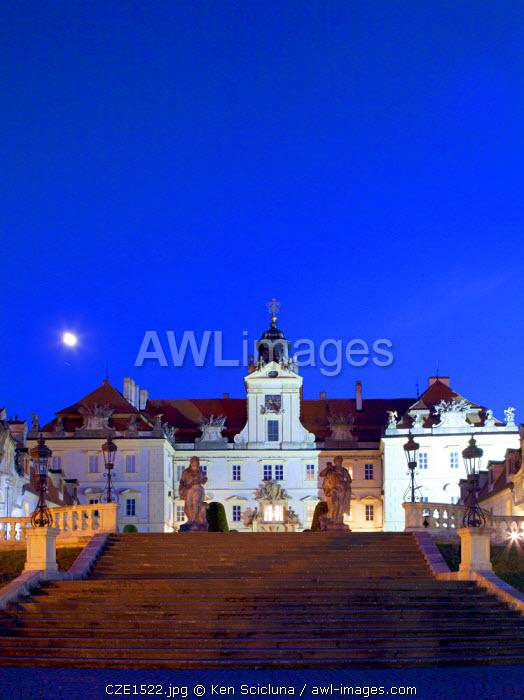 Czech Republic, Moravia, Valtice. Chateaux Valtice.