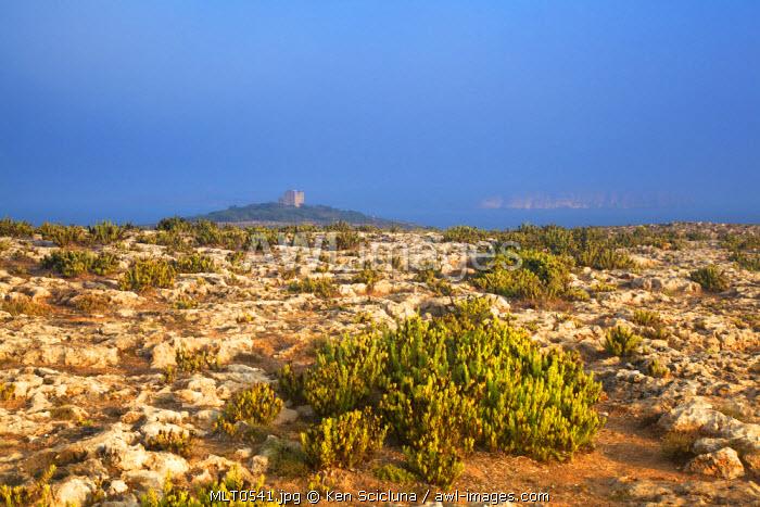 Europe, Maltese Islands, Malta. Dramatic scenery in Mellieha