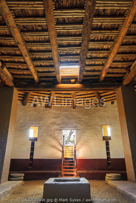 North America, United States of America, New Mexico, Aztec Ruins National Monument