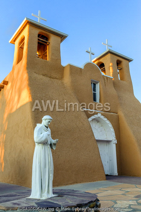 North America, United States of America, New Mexico, Taos, San Francisco de Asis Mission Church