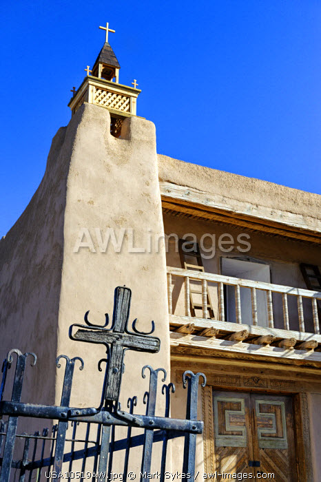 North America, United States of America, New Mexico, Las Trampas, San Jose de Gracia Church