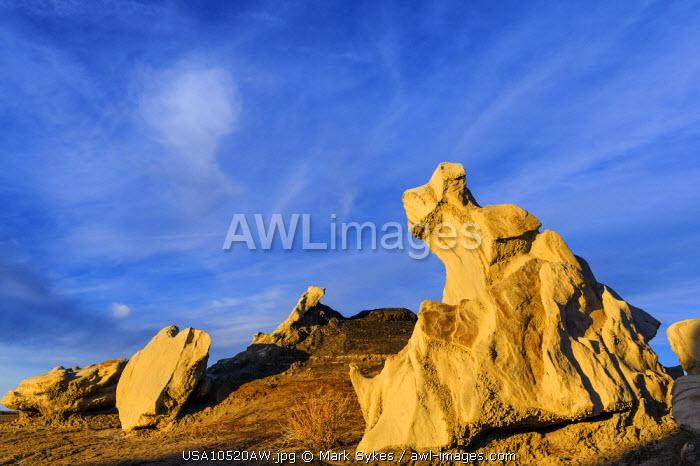 North America, United States of America, New Mexico, Bisti Badlands