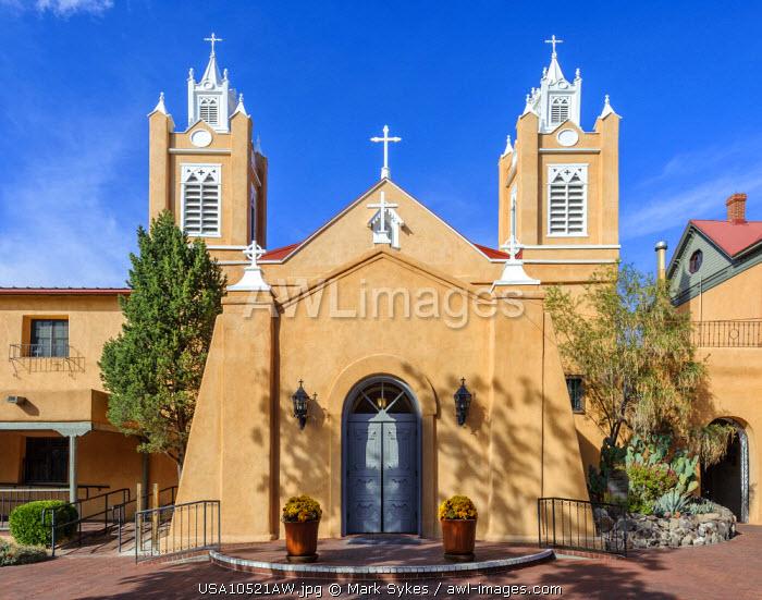 North America, United States of America, New Mexico, Albuquerque, San Felipe de Neri Parish