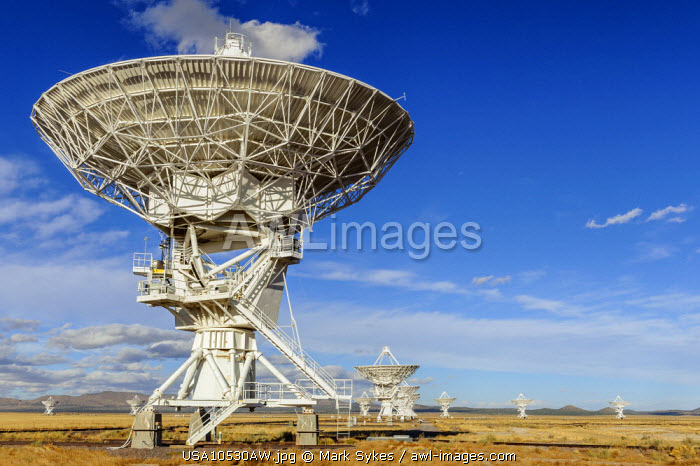 North America, United States of America, New Mexico, Socorro, Very Large Array Radio Telescope