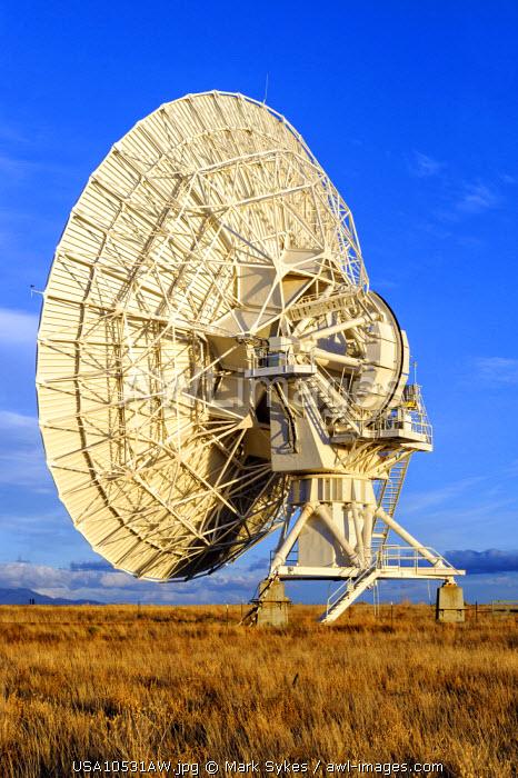 North America, United States of America, New Mexico, Socorro, Very Large Array Radio Telescope