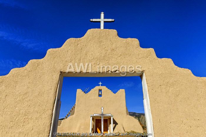 North America, United States of America, New Mexico, Picuris, San Lorenzo de Picuris