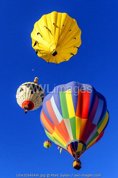 North America, United States of America, New Mexico, Taos, Balloon Festival