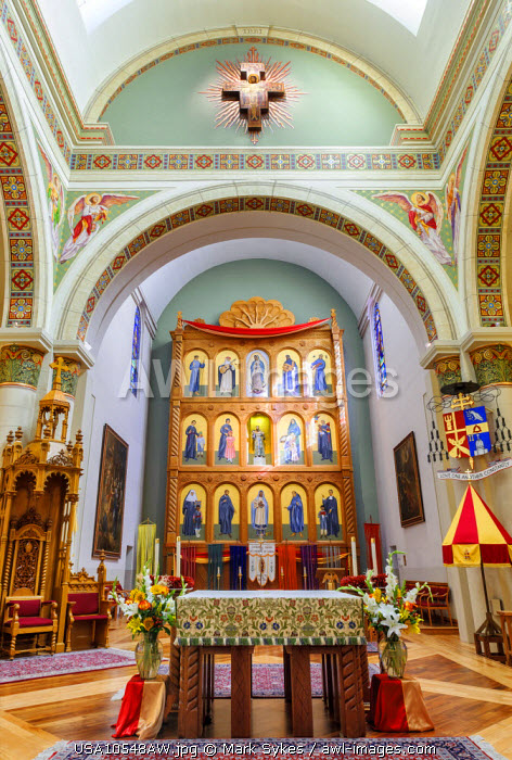 North America, United States of America, New Mexico, Cathedral Basilica of St. Francis of Assisi