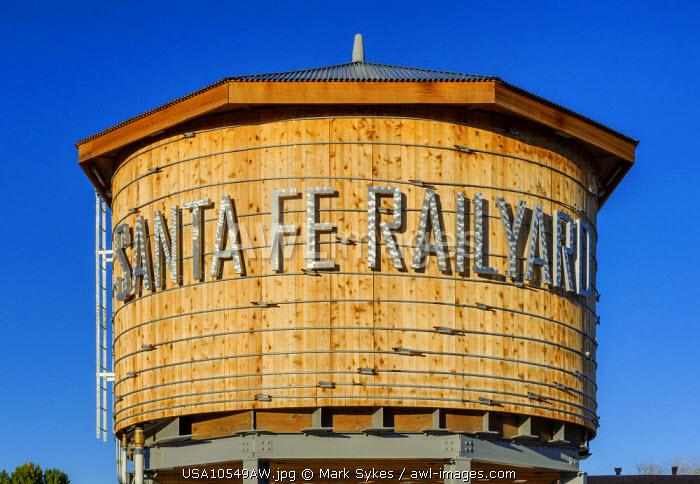 North America, United States of America, New Mexico, Santa Fe, Santa Fe Railyard