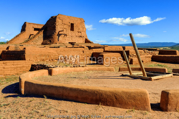 North America, United States of America, New Mexico, Pecos National Historical Park