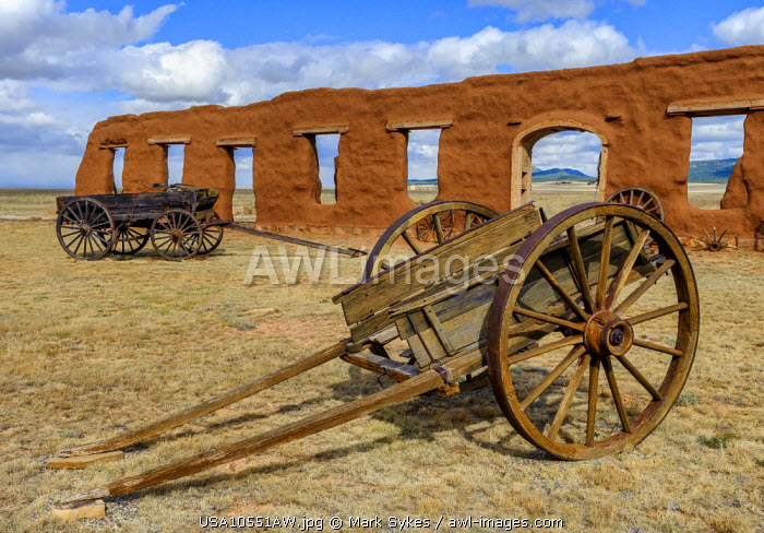North America, United States of America, New Mexico, Fort Union National Monument