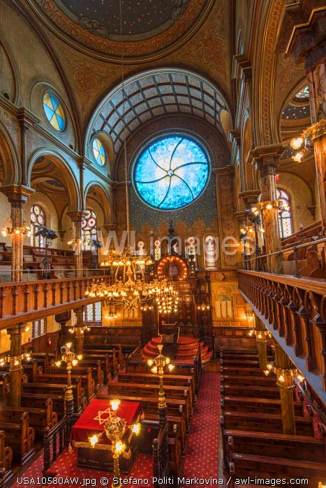 Eldridge Street Synagogue, Manhattan, New York, USA