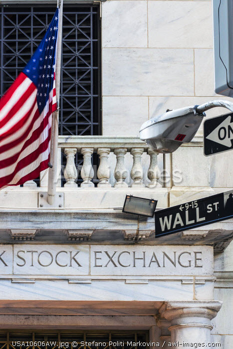 New York Stock Exchange, Wall Street, Lower Manhattan, New York, USA