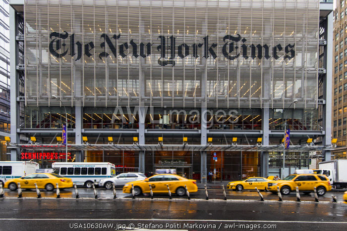 The New York Times Building, Manhattan, New York, USA