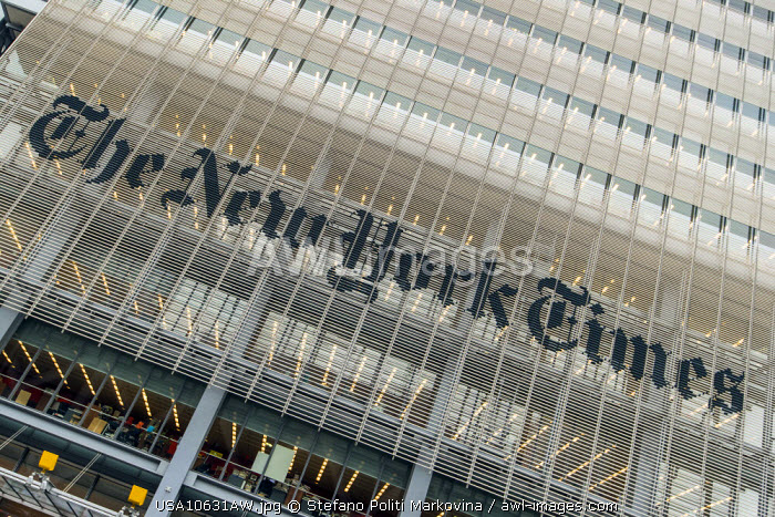 The New York Times Building, Manhattan, New York, USA