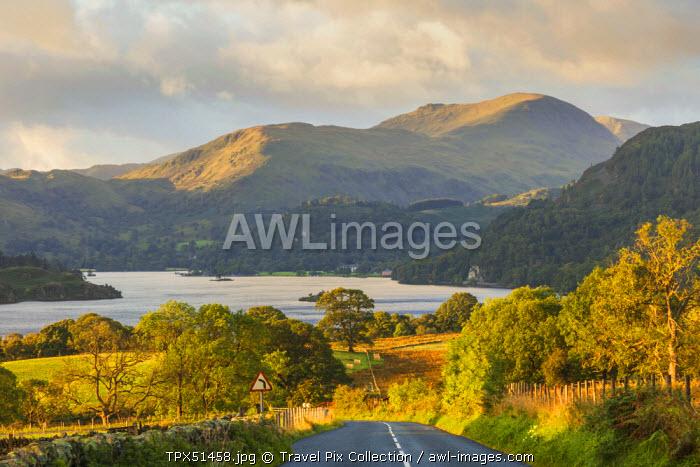 England, Cumbria, Lake District, Ullswater