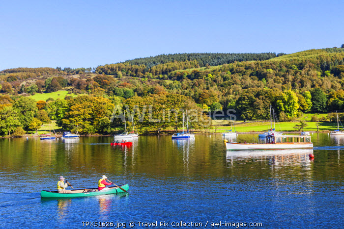 England, Cumbria, Lake District, Windermere, Lakeside