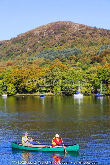 England, Cumbria, Lake District, Windermere, Lakeside