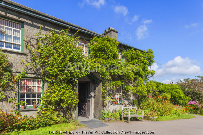 England, Cumbria, Lake District, Windermere, Hawkeshead, Beatrix Potter's Cottage Hill Top