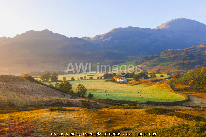 England, Cumbria, Lake District, The Langdales