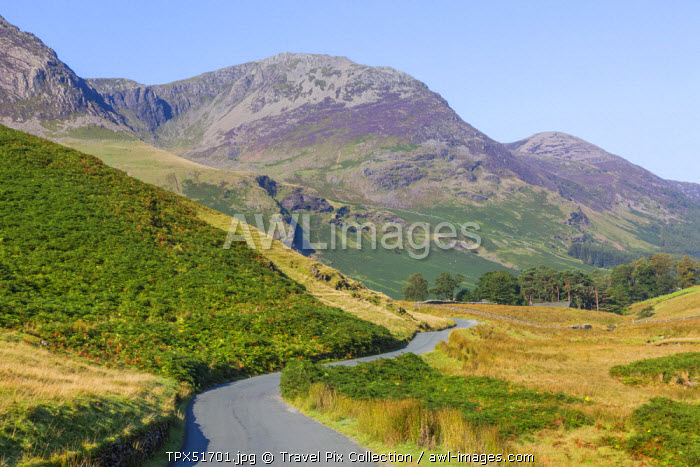 England, Cumbria, Lake District, Honister Pass