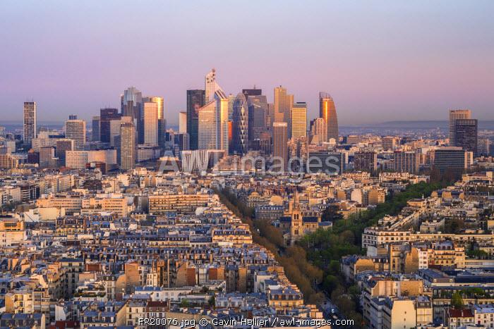 La Defense business district, Paris, France, Europe