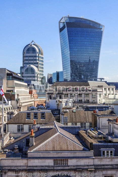 20 Fenchurch Street is a commercial skyscraper in London that takes its name from its address on Fenchurch Street, in the historic City of London financial district. It has been nicknamed 'The Walkie-Talkie' because of its distinctive shape.