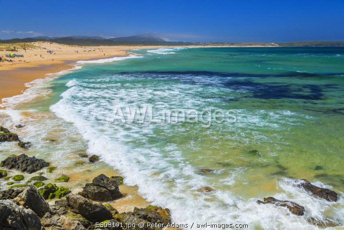 Beach, Valdovino, Galicia, Spain