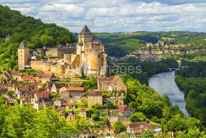 Chateau de Castelnaud, Castelnaud, Dordogne, Aquitaine, France