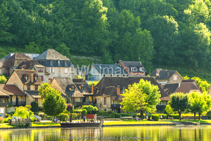 Village of Curemonte, Correze, Limousin, France