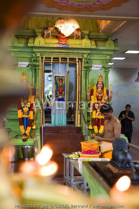 Malaysia, Kuala Lumpur, Little India District, Sri Maha Mariamman Temple