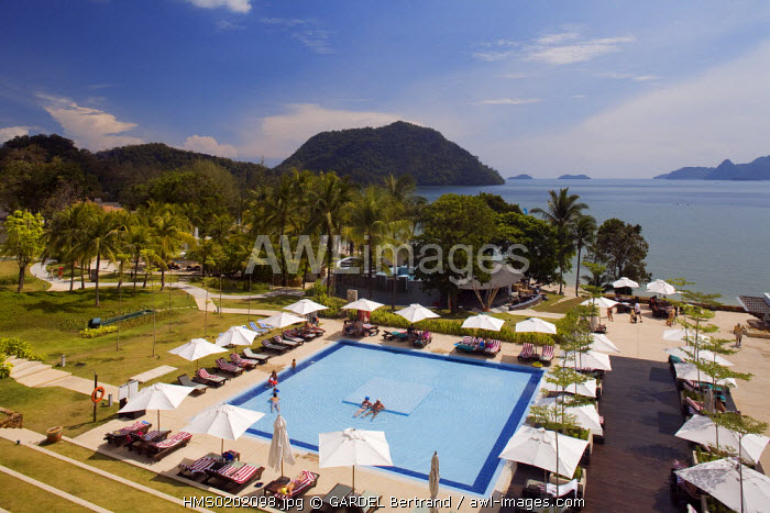 Malaysia, Kedah state, Andaman Sea, Langkawi island, Westin Hotel, near Kuah