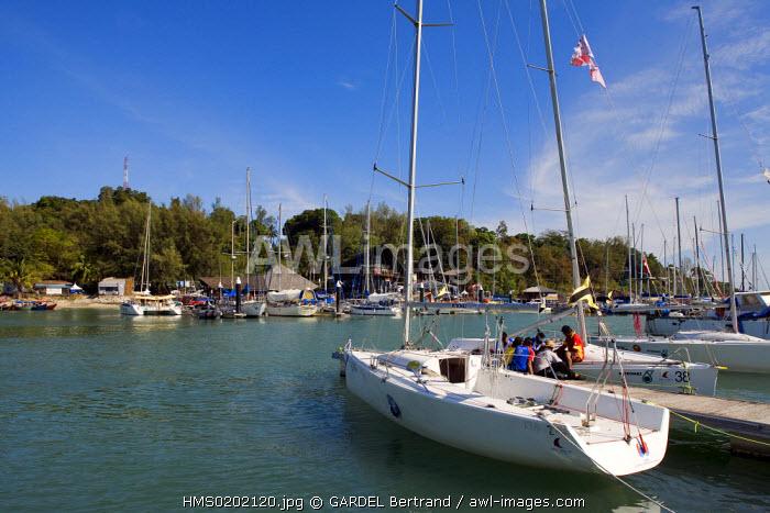 Malaysia, Kedah state, Andaman Sea, Langkawi island, the yacht club