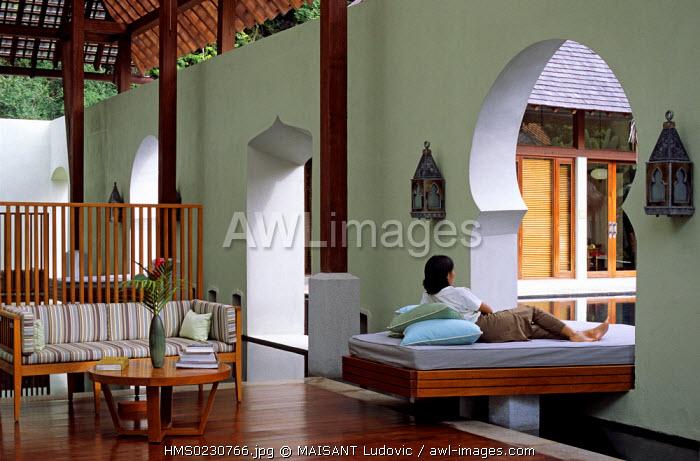 Malaysia, Kedah State, Langkawi Island, Four Seasons Hotel, spa