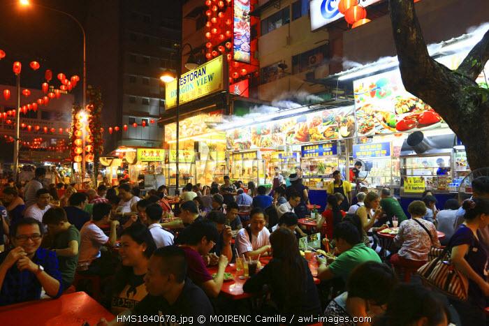 Malaysia, Kuala Lumpur, Jalan Alor food street