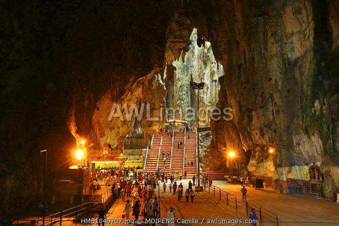 Malaysia, Kuala Lumpur, Batu Caves Temple