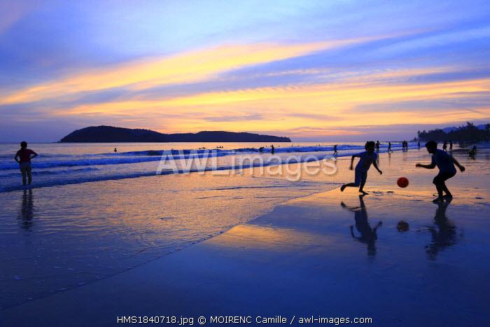 Malaysia, Kedah state, Andaman Sea, Langkawi Island, Pantai Cenang beach