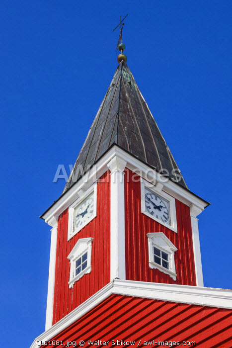 awl-images.com - Greenland / Greenland, Nuuk, Frelsers Kirche church